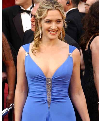 kate winslet no shirt