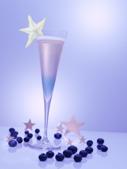 Picture of a Star of Night cocktail glass